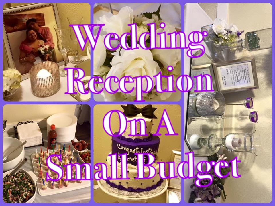 Small Wedding Reception Done For Under 20000 On A Budget Youtube