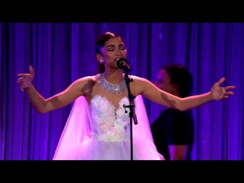 Zendaya performs Neverland at Pre-Oscar Dinner