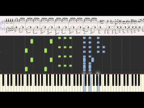Bei Mir Bist Do Schon Monty Suffern's version (synthesia+sheet music)