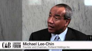 Michael Lee-Chin at Canadian Business Leadership Forum