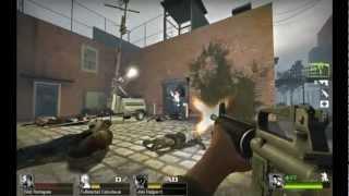 Left 4 Dead 2 DLC The Sacrifice Finale Gameplay (Bill's Death)