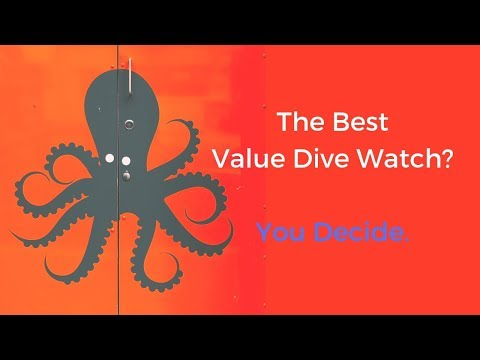 The Best Value Dive Watch? Phoibos Splashes onto Long Island Watch