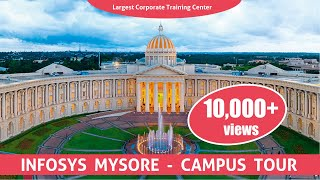 Infosys Mysore DC - Campus Tour | Inside the largest corporate training center