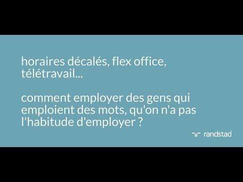 Le monde du travail d'après - Nouveaux modes de travail