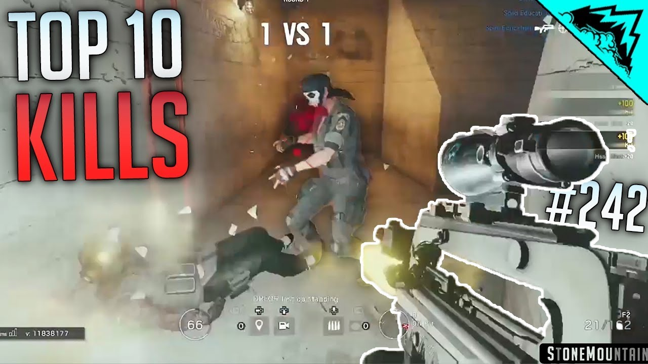 HIGH PRESSURE - Top 10 Rainbow Six Siege (WBCW #242)