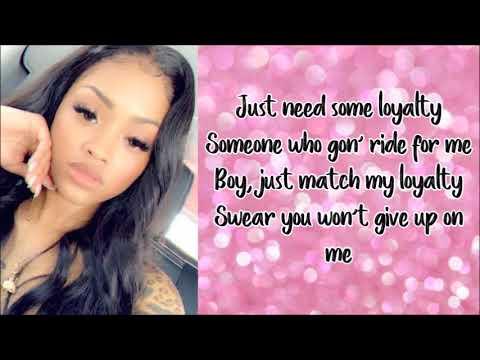 Ann Marie - Ride for Me ft  Yung Bleu (Lyrics) - YouTube