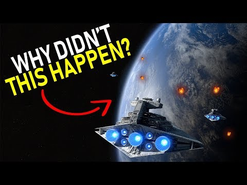Why didn't the EMPIRE destroy the MON CAL SHIPYARDS? | Star Wars Legends Lore