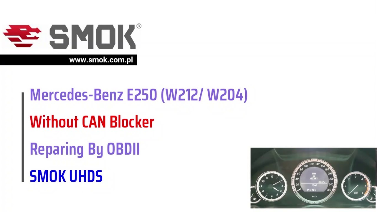 Smok Uhds Benz 212  204 Without Can Filter
