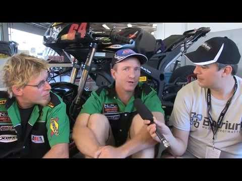 TTXGP World Final - electric motorcycle championship 2012: Day 2 interviews