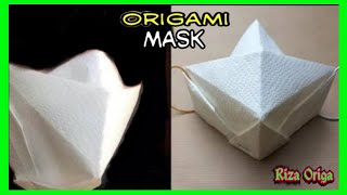 как сделать из бумаги маску ниндзя