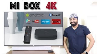 Xiaomi Mi Box S 4K  - Get Android TV with Netflix Amazon Prime & Youtube on Non Smart TV