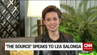 'The Source' speaks to Lea Salonga