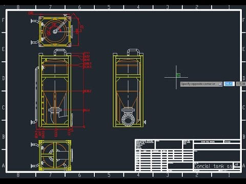 Manufacturing Drawing Using Solidwork Drafting -part 2