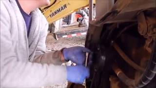 Changing The Hydraulic Fluid In The Mini Ex