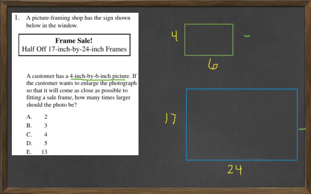 HiSET Math Free Practice Test 2 #1 - YouTube