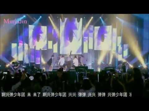 [150905]BTS (방탄소년단) - 흥탄소년단 I FUN MUSIC in Shanghai