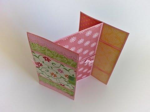 DIY | Never Ending Card  ou Cartão...
