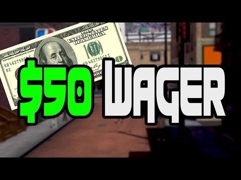 Crazy $50 wager!!!!!Im raging so hard!!!!!!!!Nba 2k18 gameplay