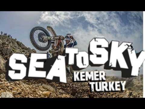 Motocross / Enduro  race , Red Bull Sea to Sky October  2015 Antalya, Kemer mountain