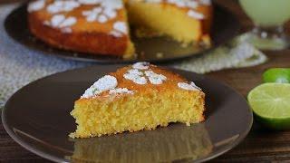 Gâteau à la polenta  (sans gluten)  / Polenta cake (gluten free) / كيك دقيق الذرة والليمون