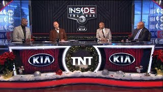 Inside The NBA - The crew talks on Bulls not wanting to practice after 56pt  loss