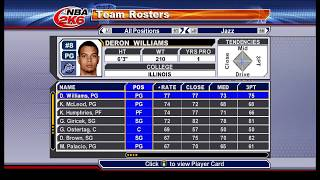 NBA 2K6 Retrospective Look at Player Ratings