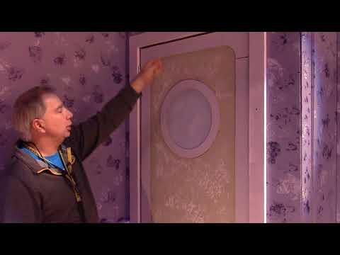 Doors in a theatre set the easy way