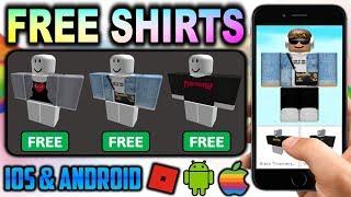 كيفية الحصول على قمصان مجانية على اي فون و الروبوت! (أي قبل الميلاد أو Robux)