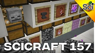 SciCraft 157: Getting A Bedrock Item In Vanilla Survival