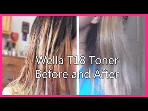 How To Tone Hair Using Wella T11 Amp T14 Toners Doovi