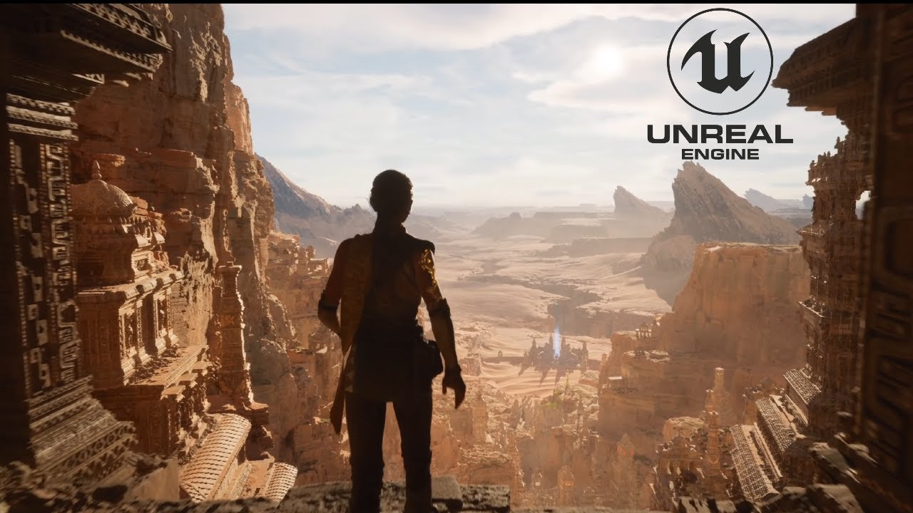 NEW PlayStation 5 Gameplay! Unreal Engine 5 By Epic Games ...