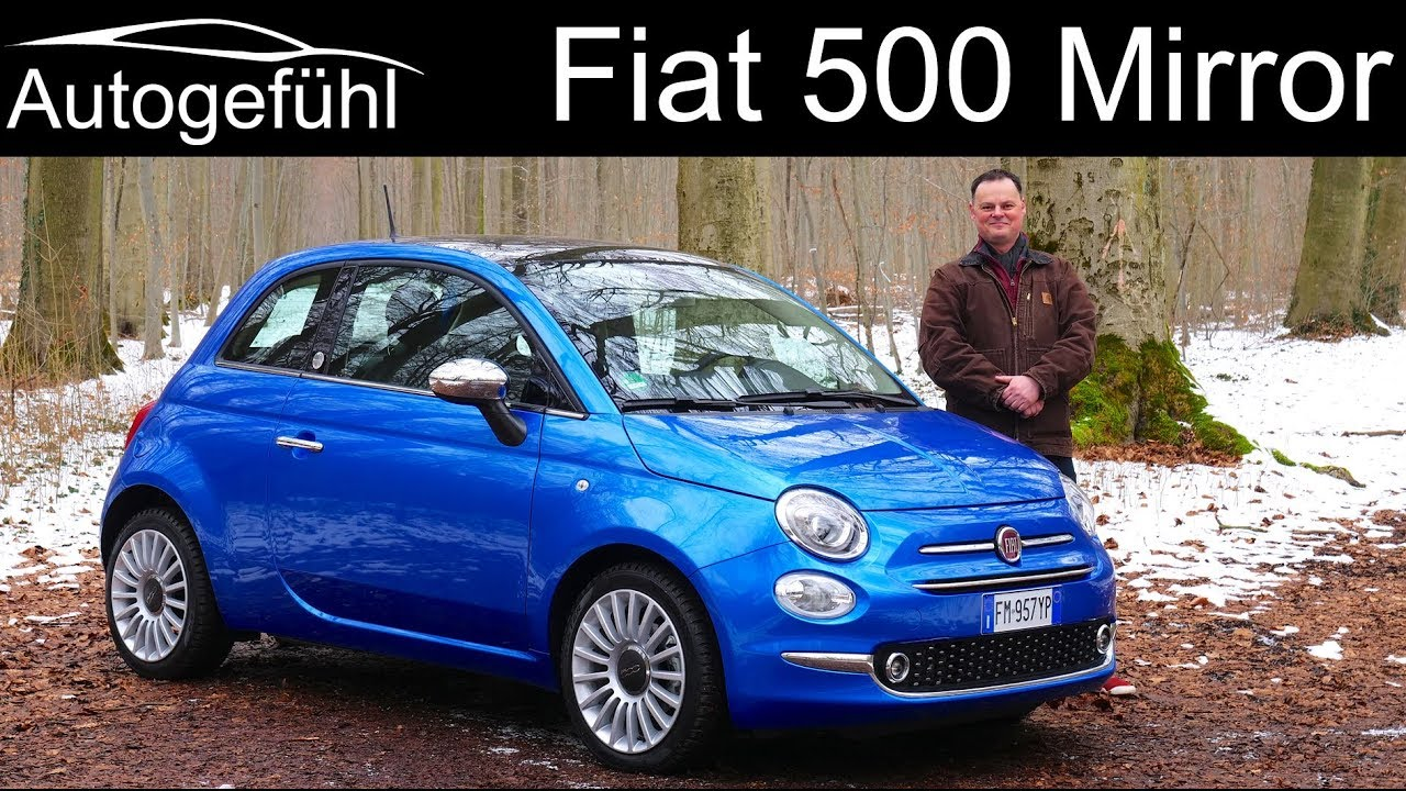 Fiat 500 Mirror Full Review Test Drive Autogefühl