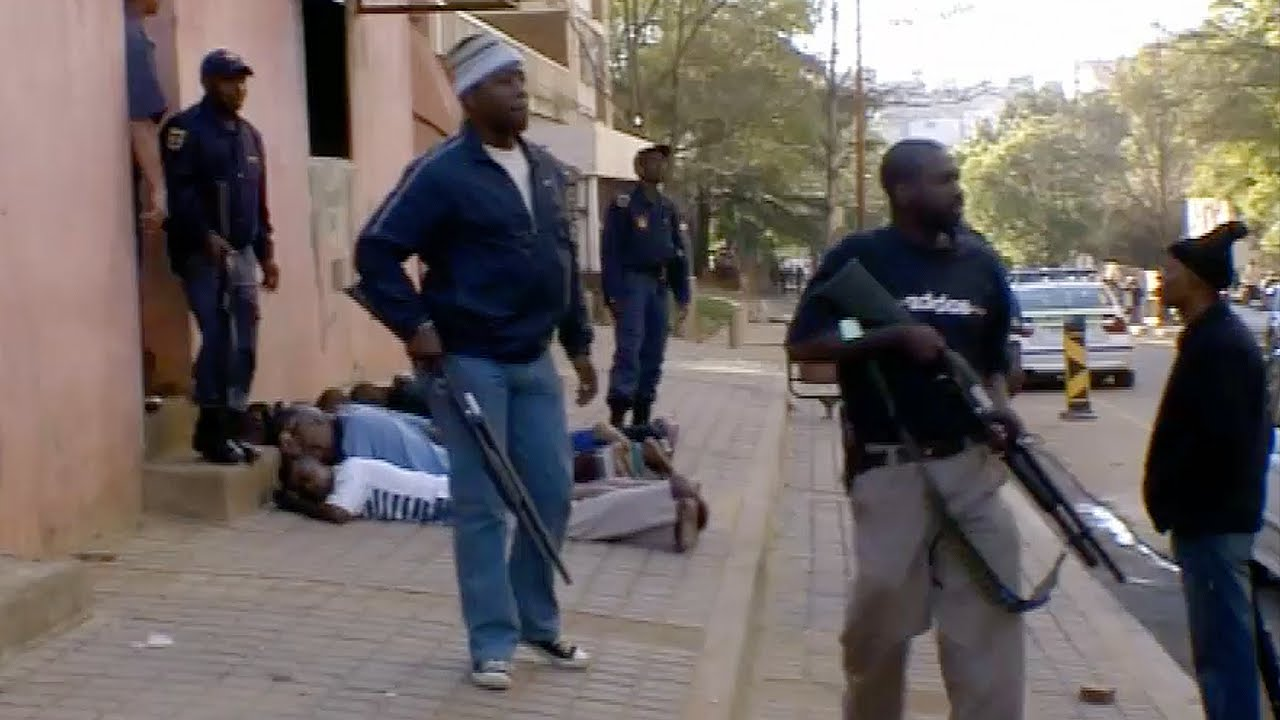 Download Shots Fired! Lawless Streets Of Johannesburg - Louis Theroux: Law and Disorder In Johannesburg - BBC
