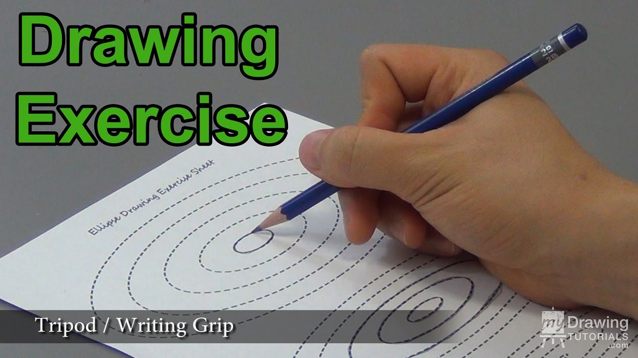 A Drawing Exercise Every Beginner Artists Should Do (Draw Better Circles &  Ellipses) - Youtube