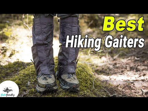 Best Hiking Gaiters In 2020 – We Recommend!