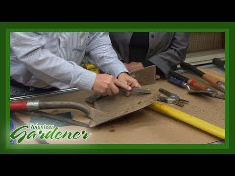 Garden Tool Maintenance | Volunteer Gardener