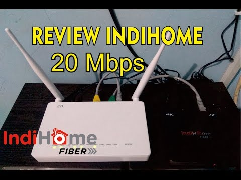 REVIEW INDIHOME 2P (INTERNET+TV) 20Mbps