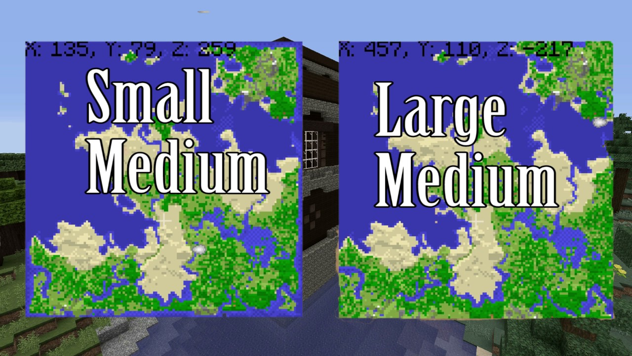Minecraft Console- Seed Size and Biome Size- Size Matters