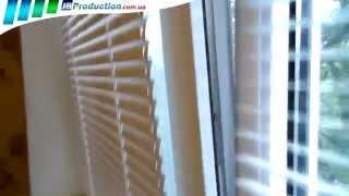 Горизонтальные жалюзи на окна с фиксацией от JB Production(В этом видео горизонтальные жалюзи 25мм на пластиковые окна показаны как очень практичная в эксплуатации..., 2014-07-18T21:42:23.000Z)