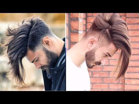 Men's New Long Hairstyles 2017-2018-Most Sexy Long Hairstyles for Men 2017-2019