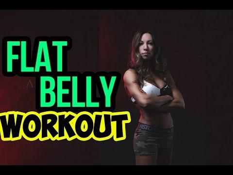 Flat Belly Workout: Walk Off Belly Fat (With Ellen Barrett)