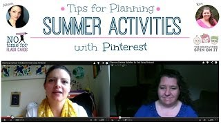 Planning Summer Activities For Kids Using Pinterest