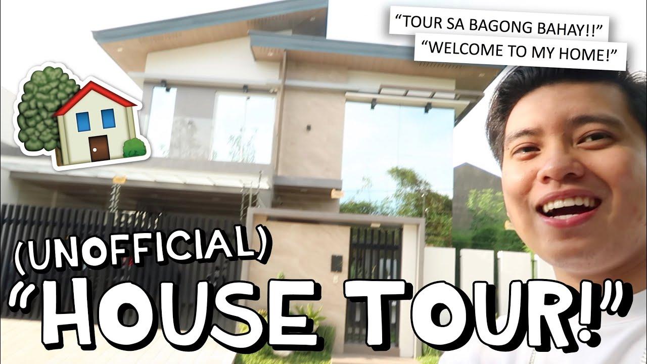 """UNOFFICIAL HOUSE TOUR"" 🏠🙌🏻 BAGONG BAHAY!! 😭 | Kimpoy Feliciano"