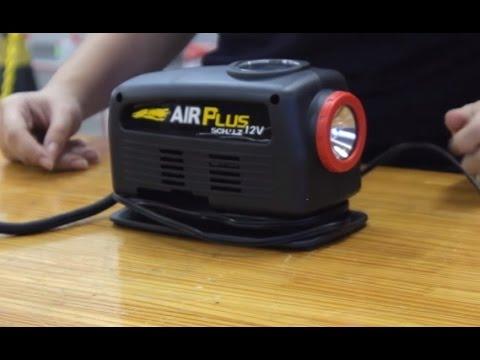 c65ab9d28 Schulz - Mini compressor portátil analógico 12 volts AIR PLUS - YouTube