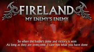 Fireland - My Enemy's Enemy (Lyrics) [Heavy Metal from Northern Ireland]