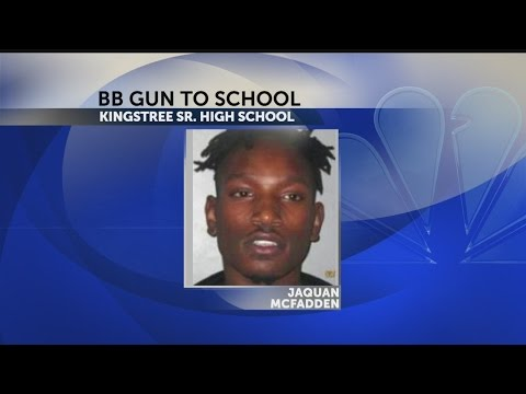 Kingstree High School student charged after bringing gun to school