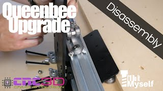 Queenbee CNC Upgrade - Disassembly