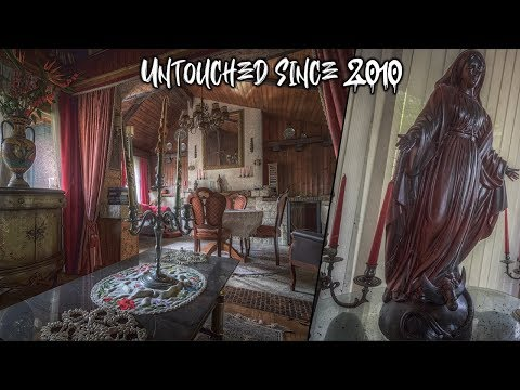 Untouched Vacation Home Found In Garden Of A Millionaires Mansion | A Walk Through The Past