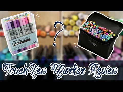 BEST CHEAP COPIC ALTERNATIVE? TouchNew Markers review \u0026 comparison to Copic Markers!