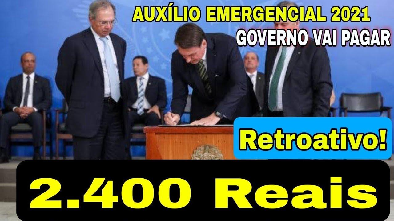 Download 🔴AO VIVO🔴 GOVERNO LIBEROU AUXÍLIO EMERGENCIAL DE 2.400 REAIS DE RETROATIVO DO ANO 2020 EXCLUSIVO!...